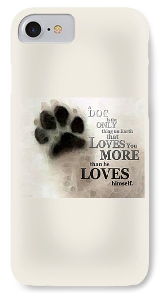 True Love - By Sharon Cummings Words By Billings IPhone 7 Case