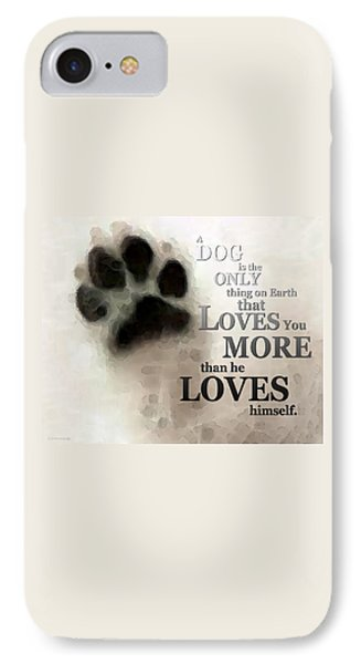 True Love - By Sharon Cummings Words By Billings IPhone Case