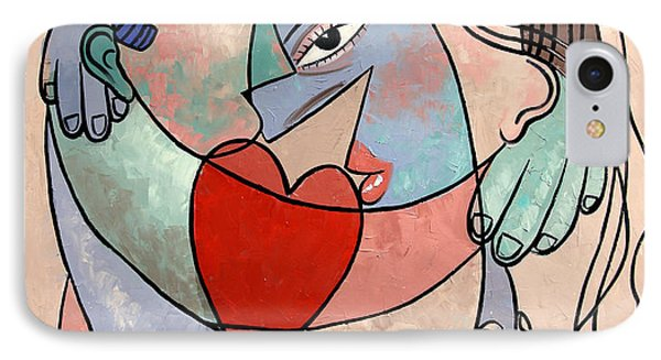 True Love When Two Become One Phone Case by Anthony Falbo