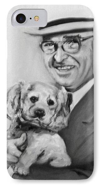 Truman And Feller IPhone Case by Martha Suhocke