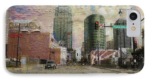 Truman Road Kansas City Missouri IPhone Case by Liane Wright