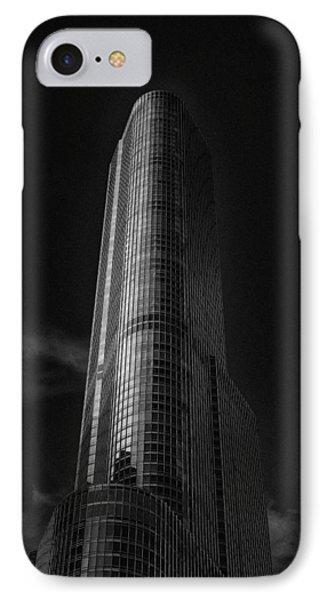 Trump Tower Chicago IPhone Case by David Haskett