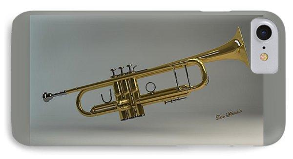 Trumpet Phone Case by Louis Ferreira