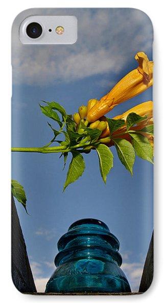 Trumpet Vine IPhone Case