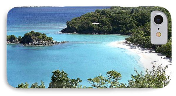 IPhone Case featuring the photograph Trunk Bay II by Carol  Bradley