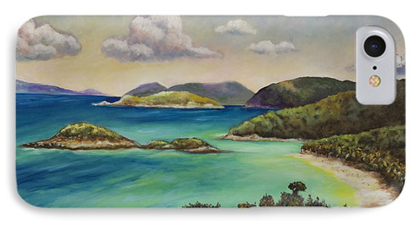 Trunk Bay Overlook Phone Case by Eve  Wheeler