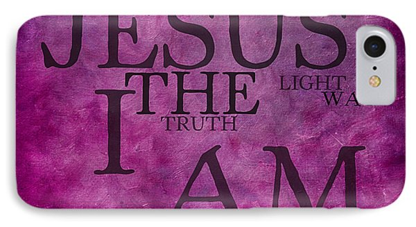 Truth Light Way 2 IPhone Case by Angelina Vick