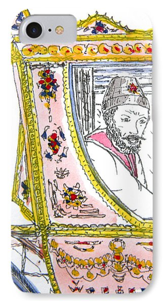Tsar In Carriage Phone Case by Marwan George Khoury