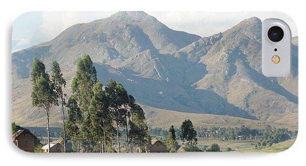 Tsaranoro Mountains Madagascar 1 Phone Case by Rudi Prott