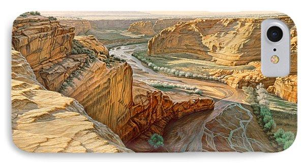 Tsegi Overlook - Canyon De Chelly IPhone Case by Paul Krapf