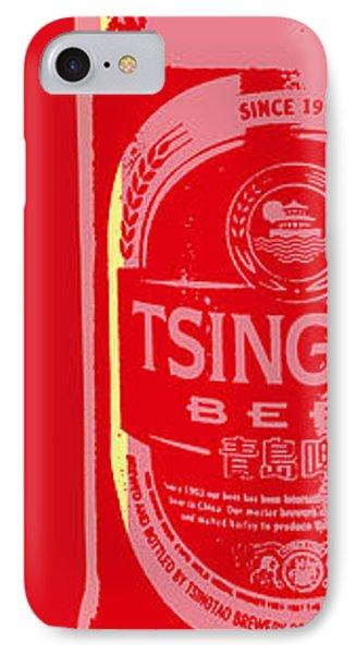 Tsingtao Beer IPhone Case by Jean luc Comperat