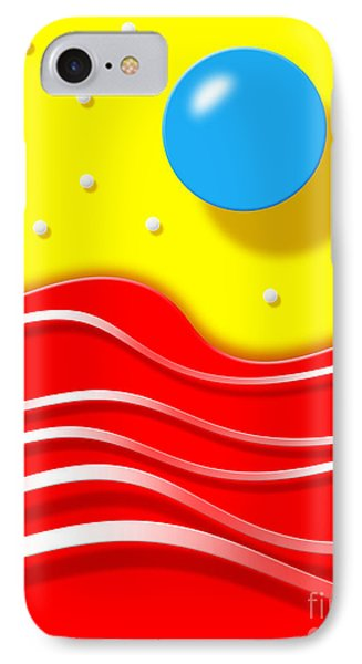IPhone Case featuring the digital art Tsunami 2 by Cristophers Dream Artistry