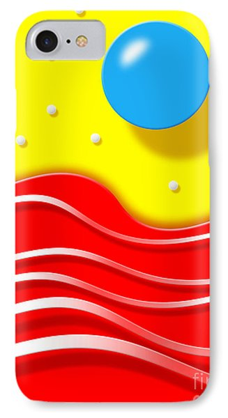 IPhone Case featuring the digital art Tsunami by Cristophers Dream Artistry