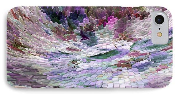 IPhone Case featuring the digital art Tsunami by Liz  Alderdice