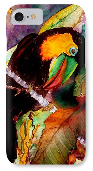 Tu Can Toucan IPhone Case by Lil Taylor
