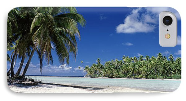 Tuamotu Islands French Polynesia IPhone Case by Panoramic Images