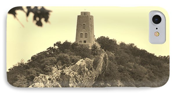 Tucker Tower Sepia IPhone Case