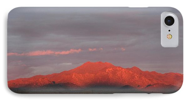 IPhone Case featuring the photograph Tucson Mountains by David S Reynolds