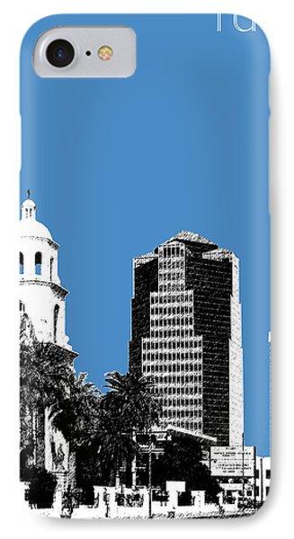 Tucson Skyline 2 - Slate IPhone Case by DB Artist