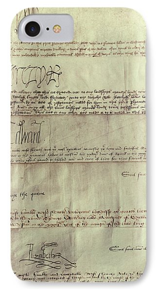 Tudor Monarchs IPhone Case by Granger