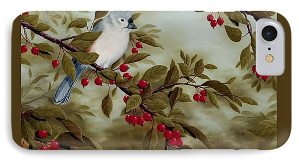 Tufted Titmouse IPhone Case by Rick Bainbridge