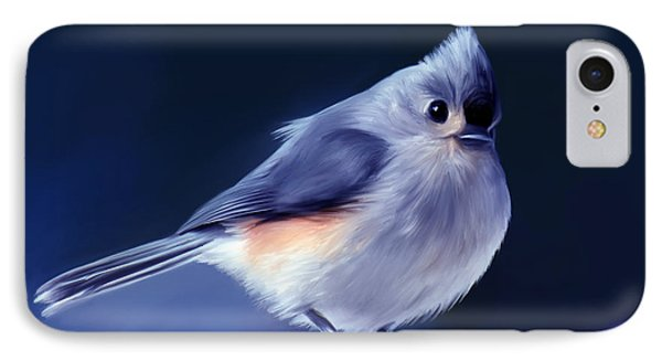 Tufty The Titmouse Phone Case by Pennie  McCracken