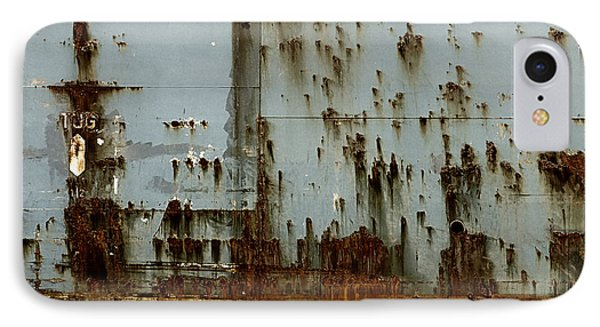 IPhone Case featuring the photograph Tug- A Fisherman's Impression by Joy Angeloff