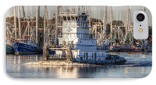 Tug Boat Apollo Port Arthur Texas IPhone Case