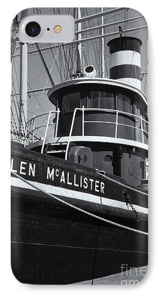 Tugboat Helen Mcallister II Phone Case by Clarence Holmes