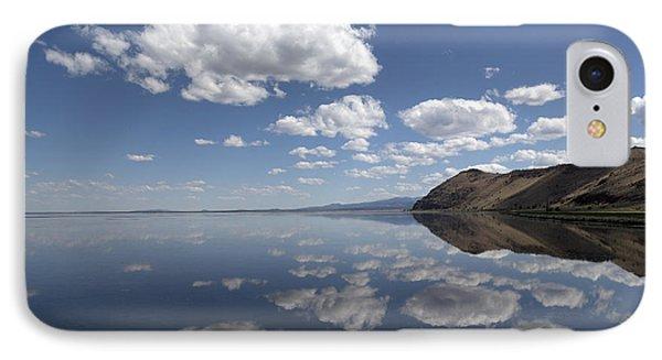 Tule Lake In Northern California IPhone Case by Carol M Highsmith