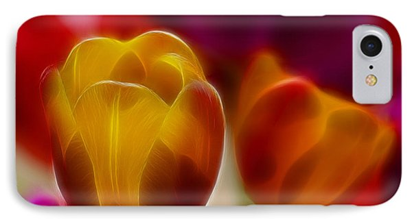 Tulip-7016-fractal Phone Case by Gary Gingrich Galleries
