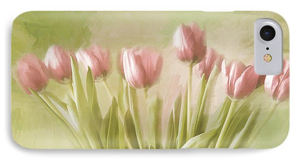IPhone Case featuring the painting Tulip Bouquet by Linda Blair