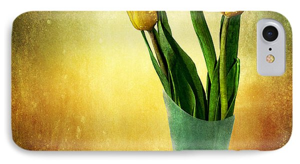 IPhone Case featuring the photograph Tulip Bouquet by Shirley Mangini