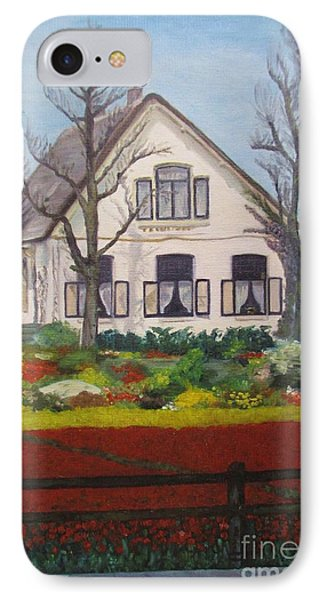 Tulip Cottage IPhone Case