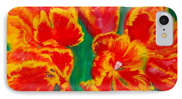 Tulip Days Phone Case by Tracey Peer