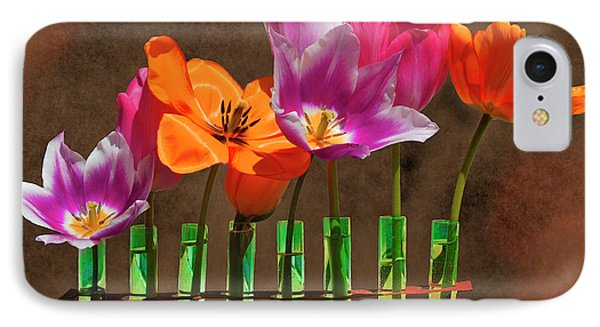 Tulip Experiments IPhone Case by Jeff Burgess