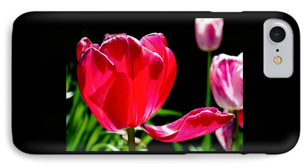 Tulip Extended Phone Case by Rona Black
