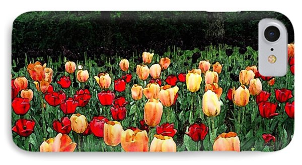 IPhone Case featuring the photograph Tulip Festival  by Zinvolle Art