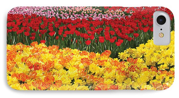 IPhone Case featuring the digital art Tulip Field by Tim Gilliland