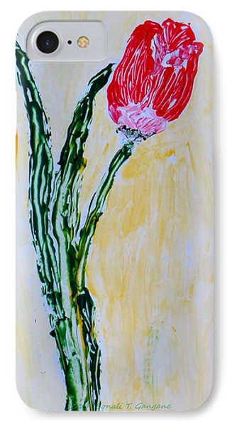Tulip For You Phone Case by Sonali Gangane