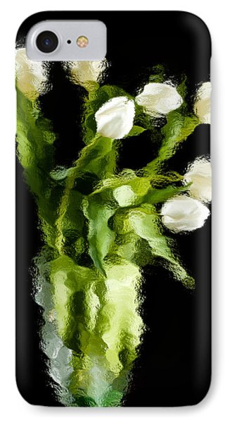 Tulip Impressions Vii IPhone Case by Penny Lisowski