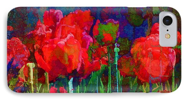 IPhone Case featuring the photograph Tulip Jubilee by Kathleen Holley