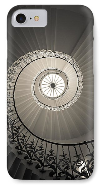 Tulip Stairs From Below IPhone Case by Ross Henton