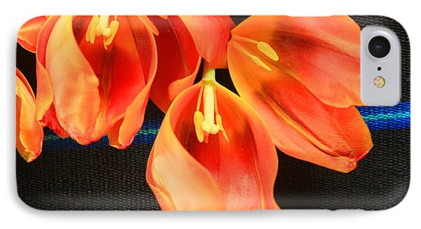 Tulip Study IPhone Case by Jeanette French