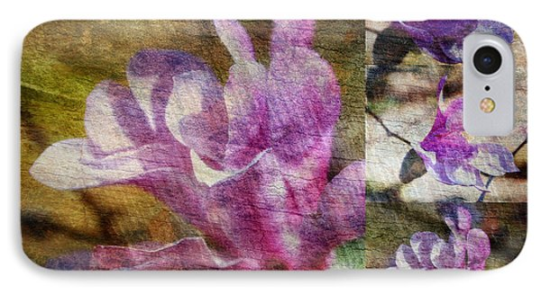 Tulip Tree Flower Collage IPhone Case