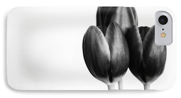Tulip Trio IPhone Case by Shelly Gunderson