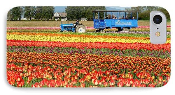Tulip Wagon IPhone Case by Karen Molenaar Terrell