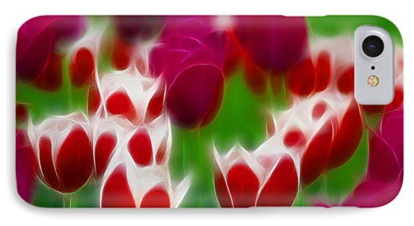 Tulips-6848-fractal Phone Case by Gary Gingrich Galleries