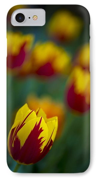 Tulips Phone Case by Chevy Fleet