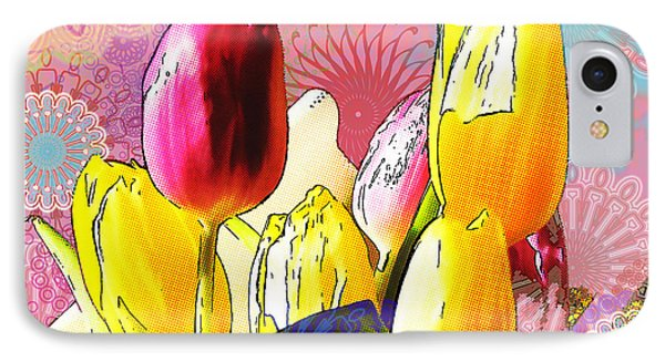 Tulips Phone Case by Christo Christov